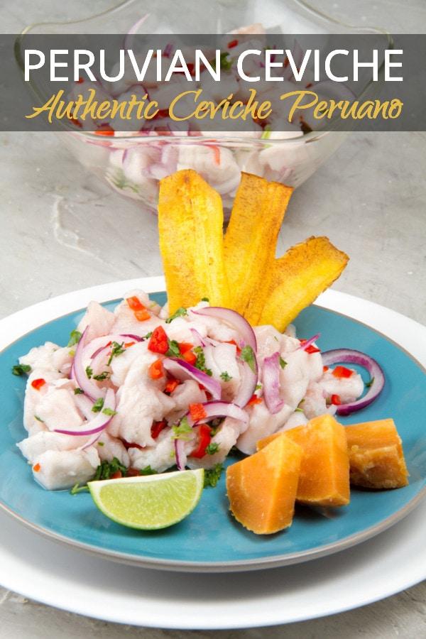Authentic Peruvian Ceviche