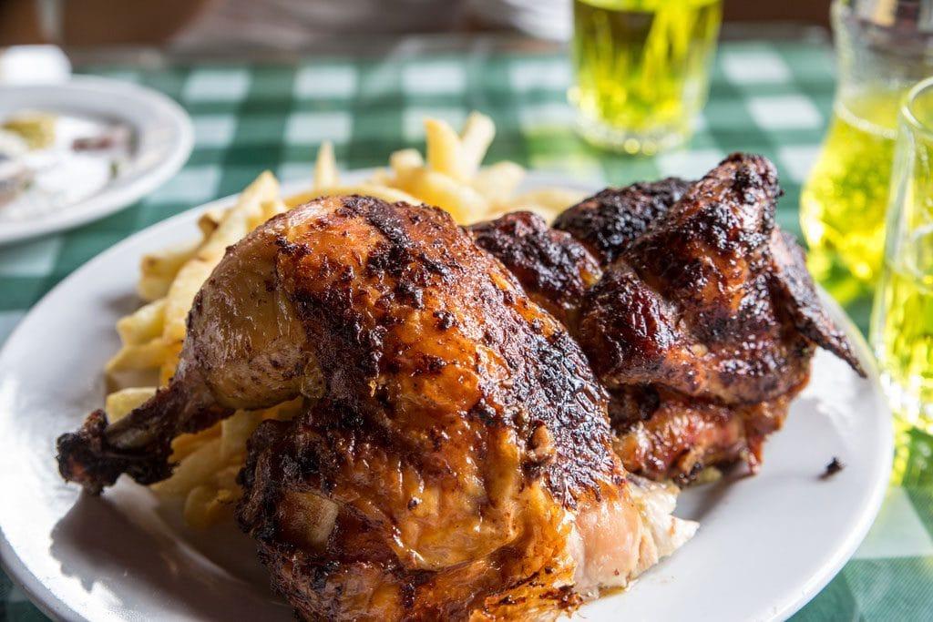 Peruvian Fried chicken in Cusco