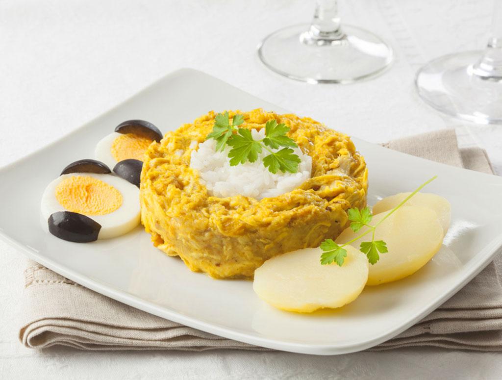 Ají de Gallina - 10 Peruvian food dishes