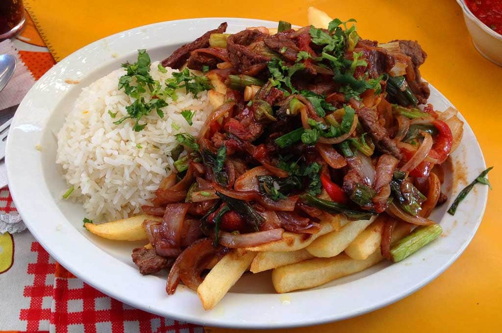 Lomo Saltado - 10 Peruvian food dishes