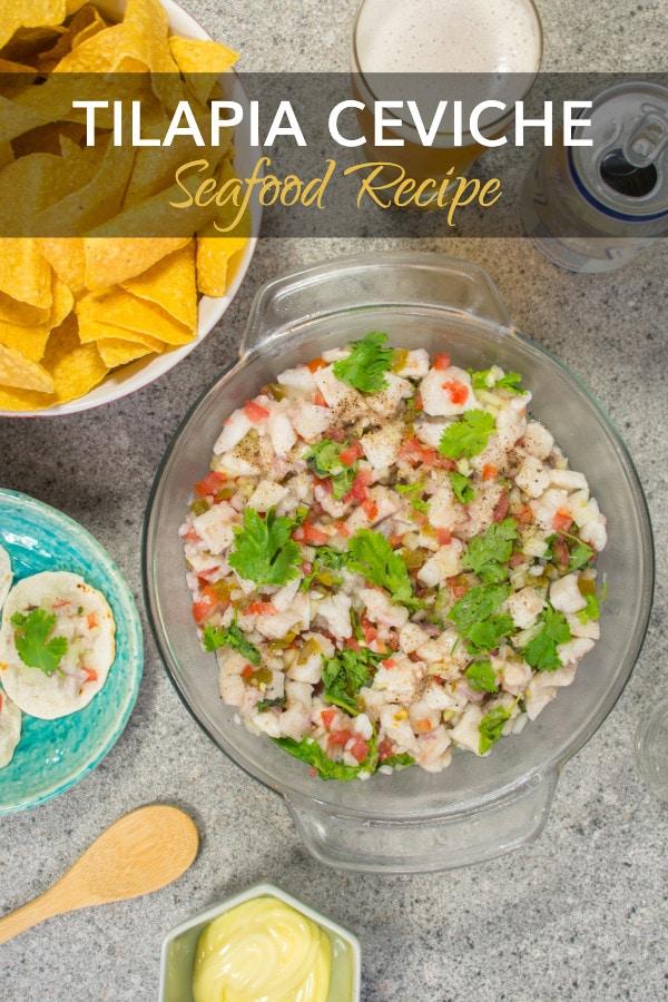 Peruvian Tilapia Ceviche Recipe