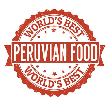 Peruvian food quality stamp