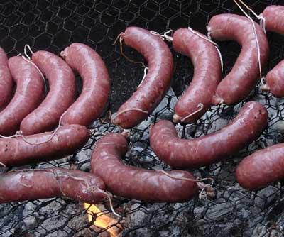 Butifarra sausage from Spain