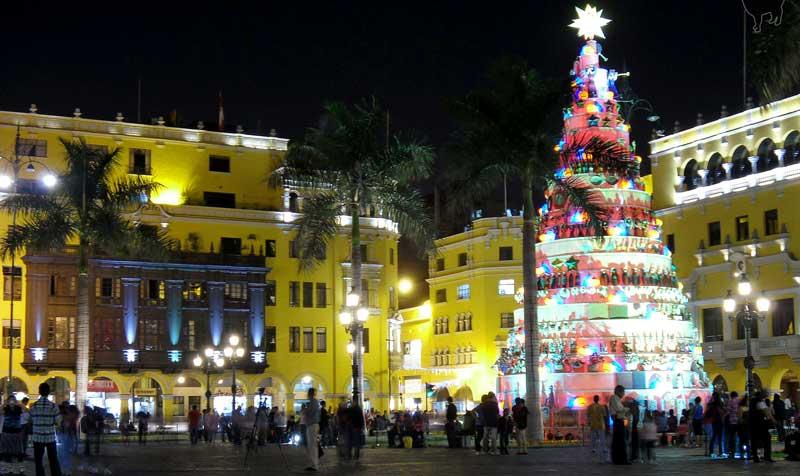 Lima, Peru at Christmas