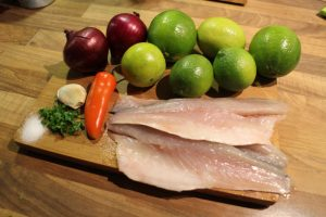 authentic Peruvian ceviche ingredients