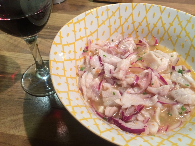 Authentic Peruvian Ceviche