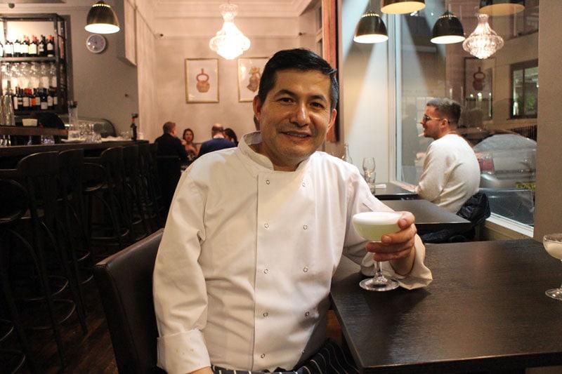 Pisqu head chef William Ortiz