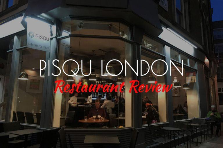 Pisqu london restaurant review - London's Best Peruvian Restaurant