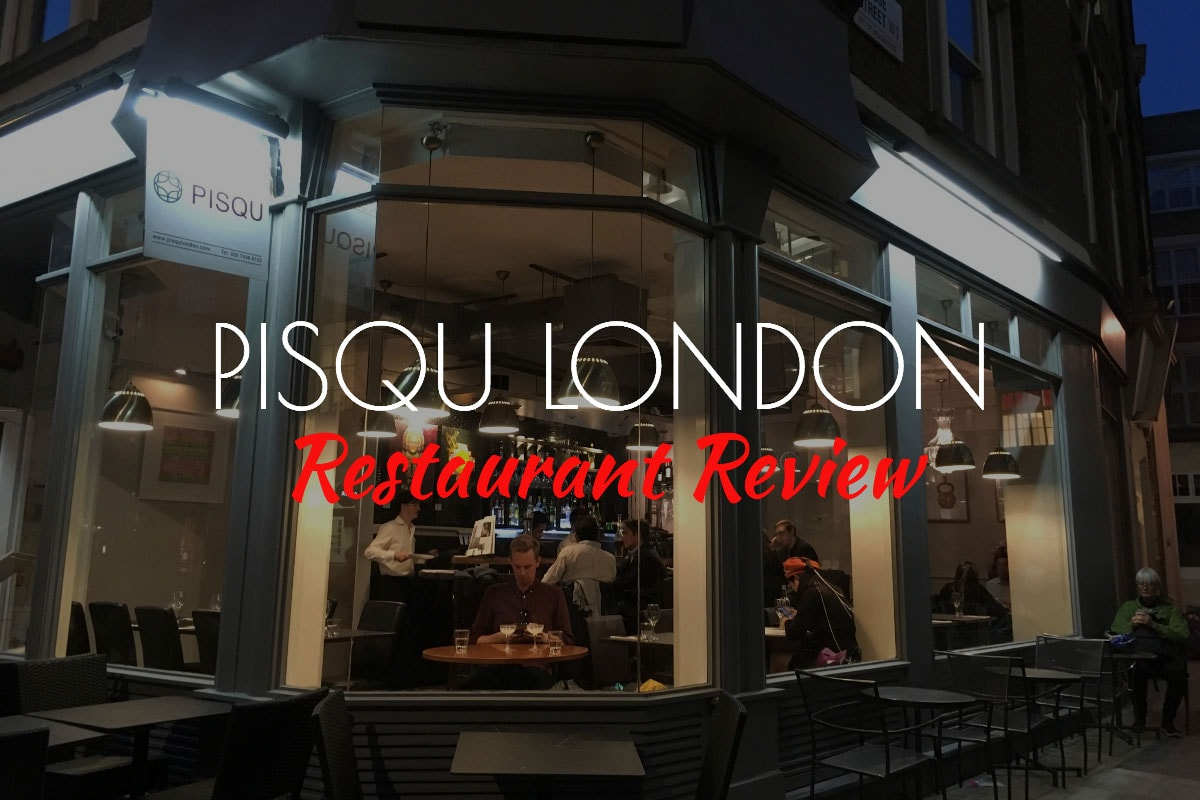 Pisqu London Review Organic Peruvian Food In The City