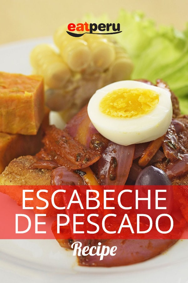 escabeche de pescado fish recipe
