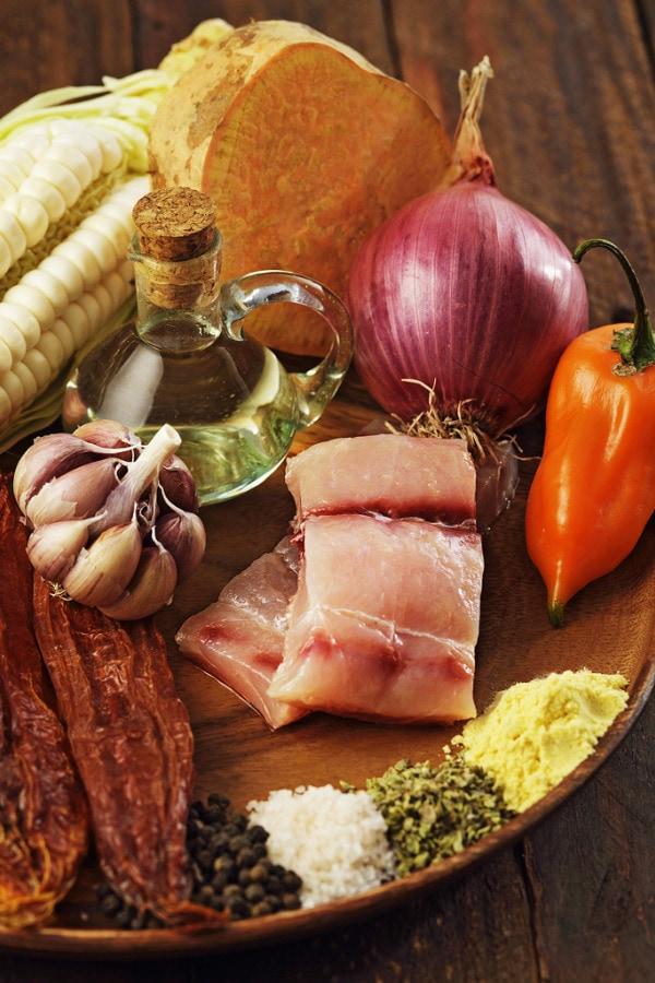 escabeche de pescado ingredients