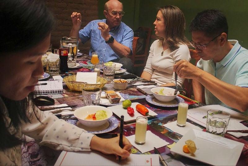 food tasting in lima taste of peru gastronomic tour
