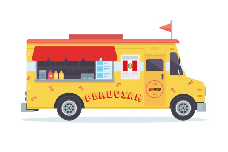 Peru food trucks - Peruvian street food