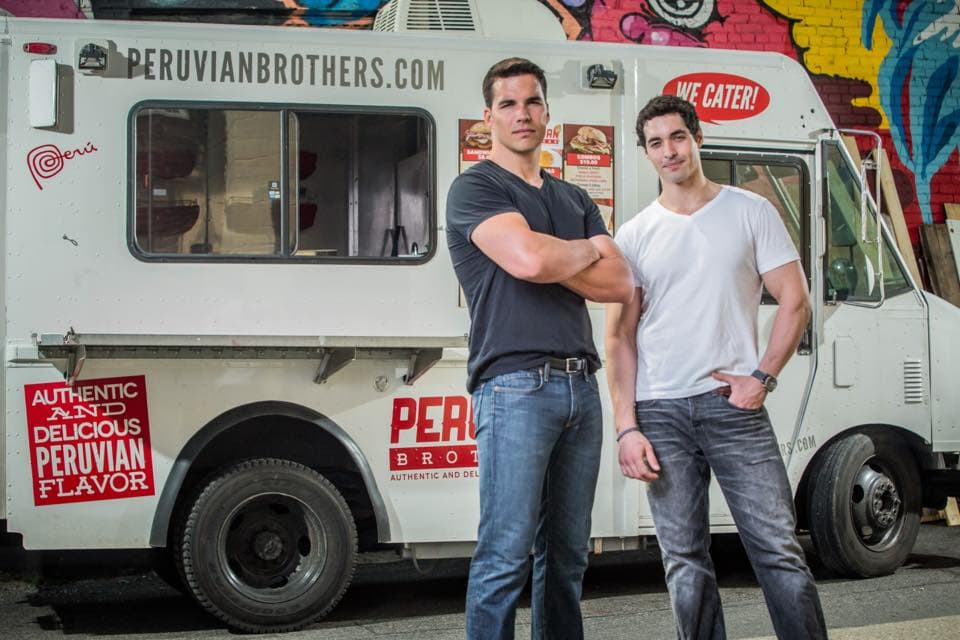 Peruvian brothers food truck in washington dc