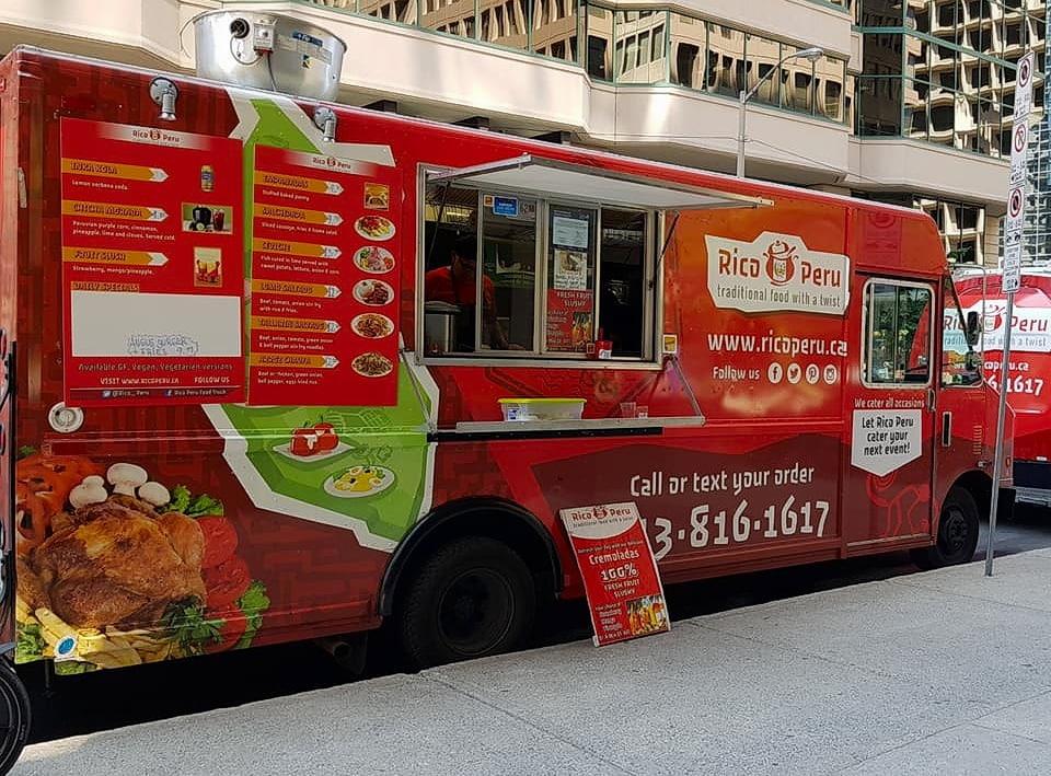 Rico Peru food truck Ottawa Canada