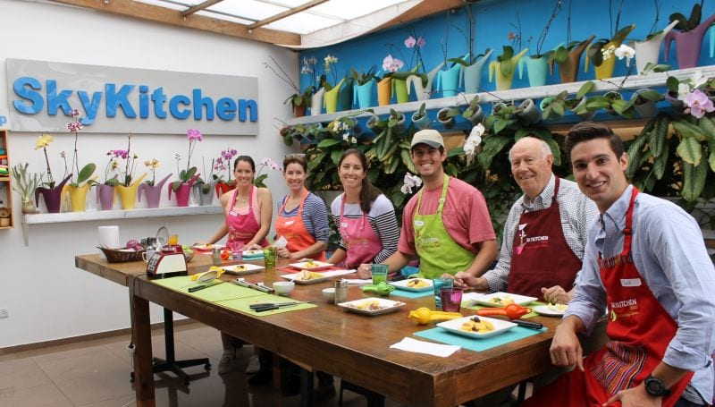 skykitchen peruvian cooking classes in lima