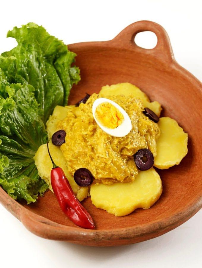 Ají de Gallina Peruvian Recipe
