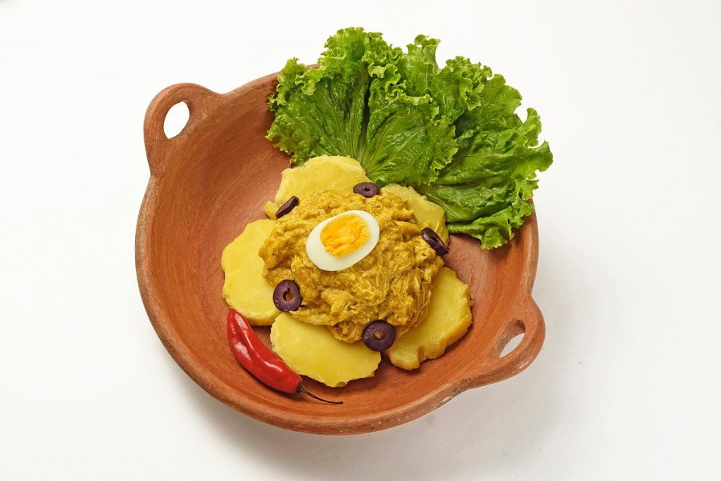 Aji de gallina recipe