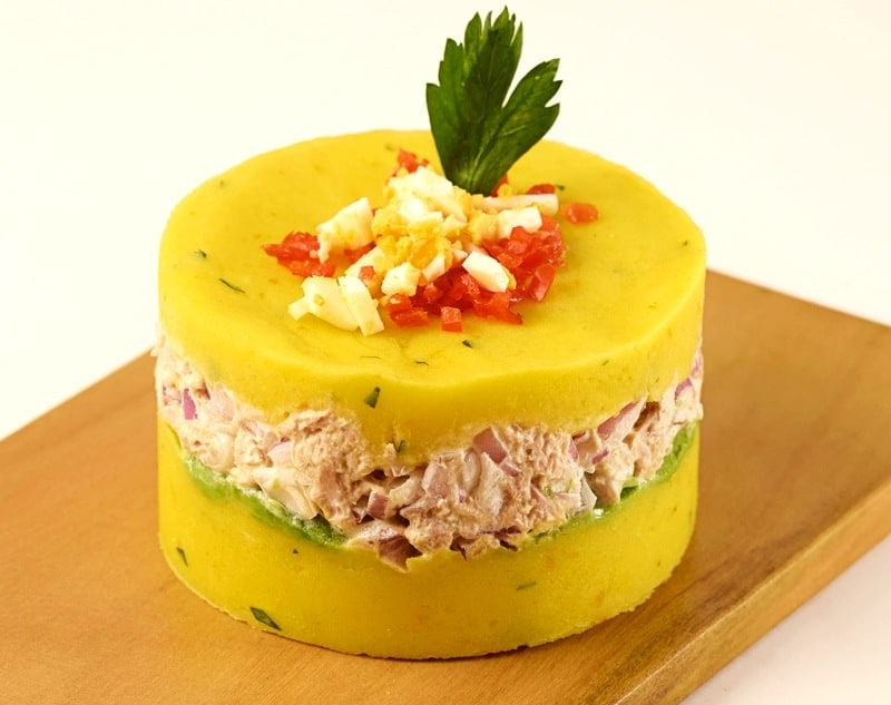 causa de atun peruvian starter recipe