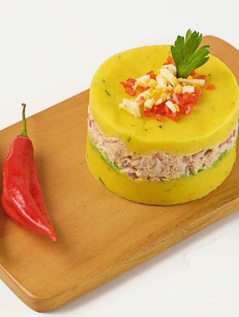 Peruvian causa de atun recipe