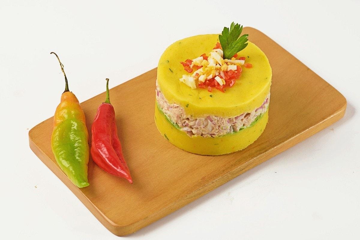 Peruvian causa de atun recipe