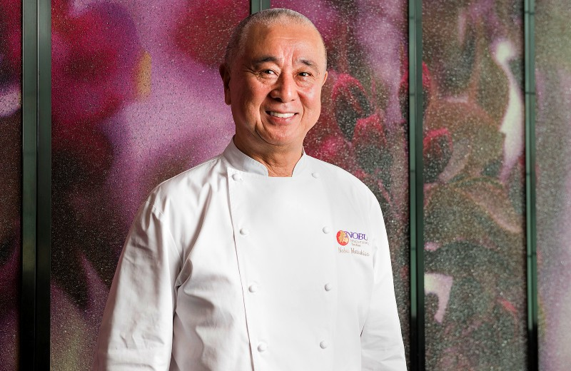 Nobu Matsuhisa chef and restauranteur