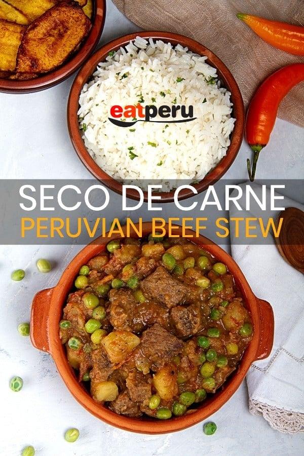 Peruvian beef stew recipe - Seco de Carne