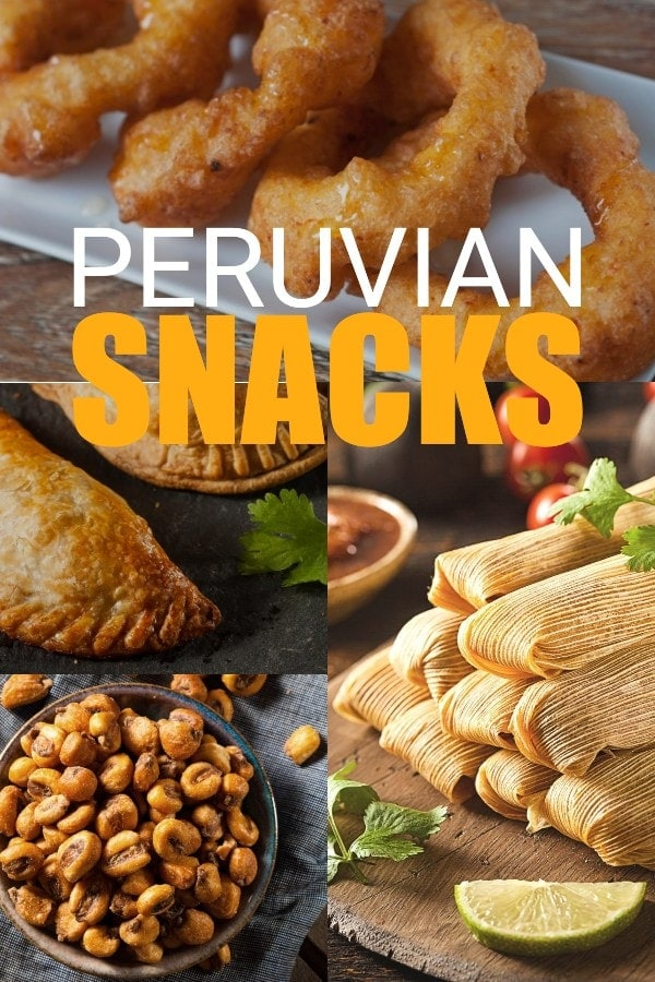 The best Peruvian Snack Foods