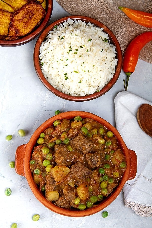 Ceco De Carne beef stew from Peru
