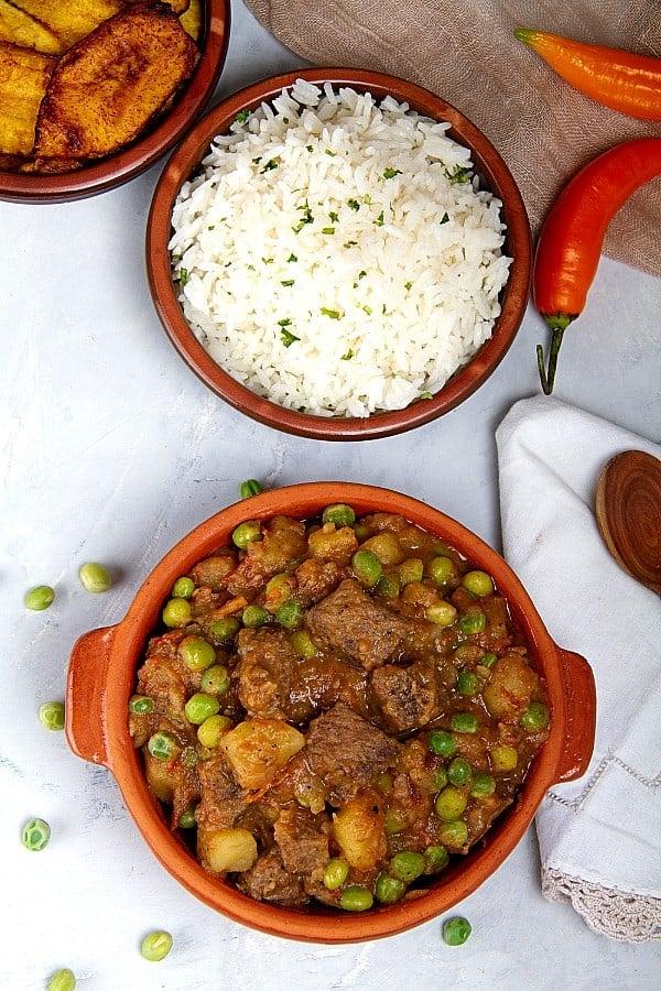 Ceco De Carne beef stew from Peru