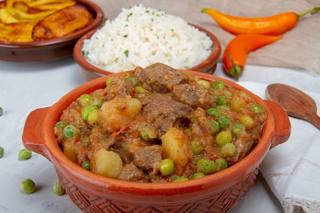 Seco de carne beef stew recipe photo