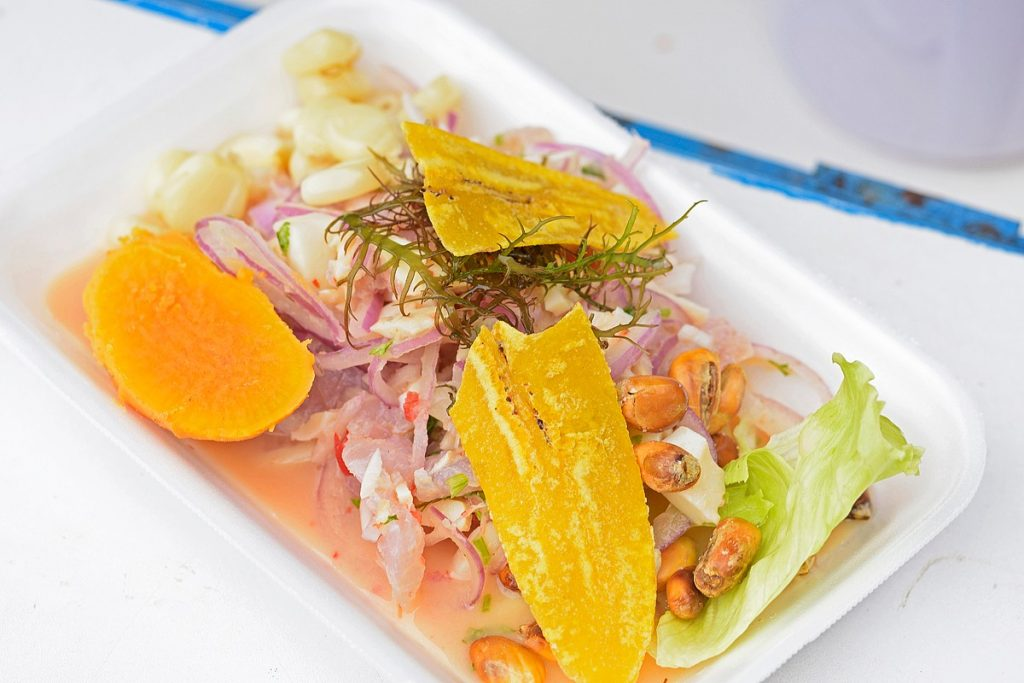 Ceviche street food