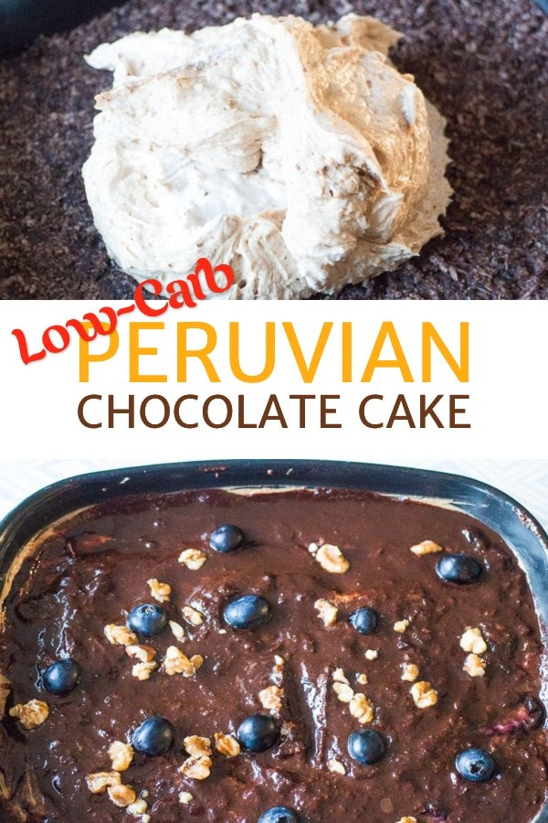 Low-carb Peruvian Chocolate Cake