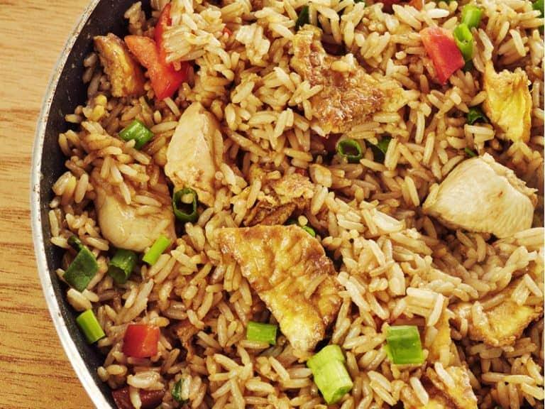 Chaufa de Arroz Peruvian Rice dish Recipe