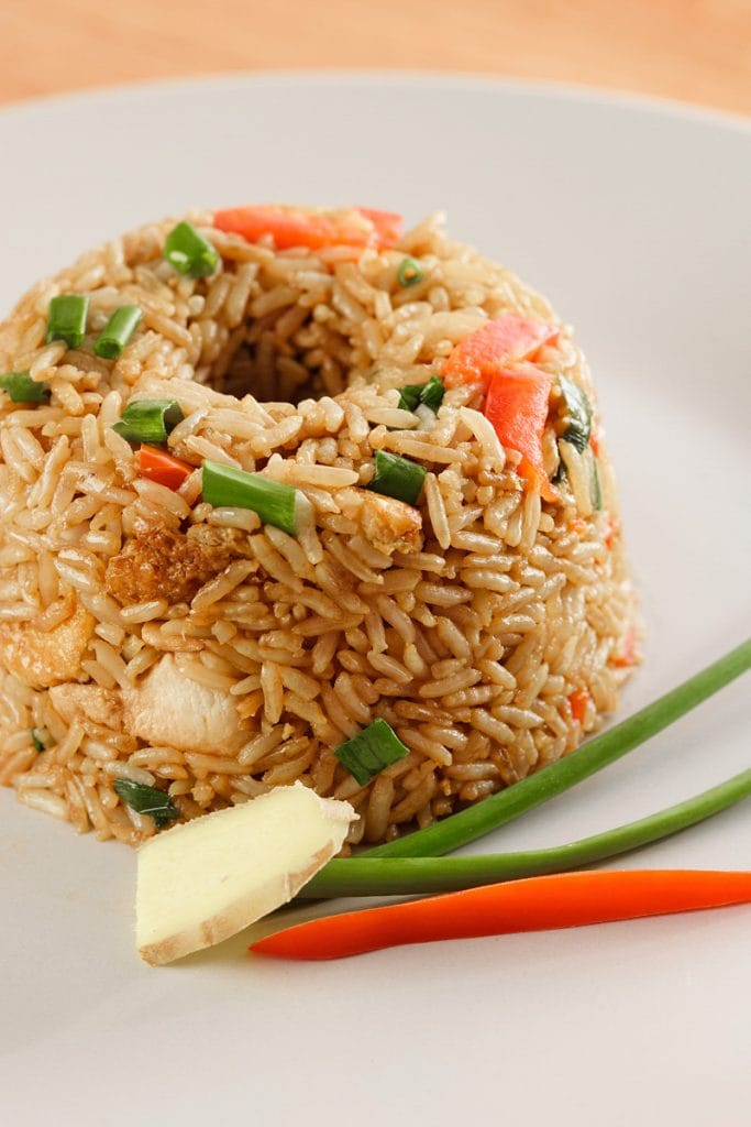 Peruvian Chinese Chaufa Fried Rice Recipe