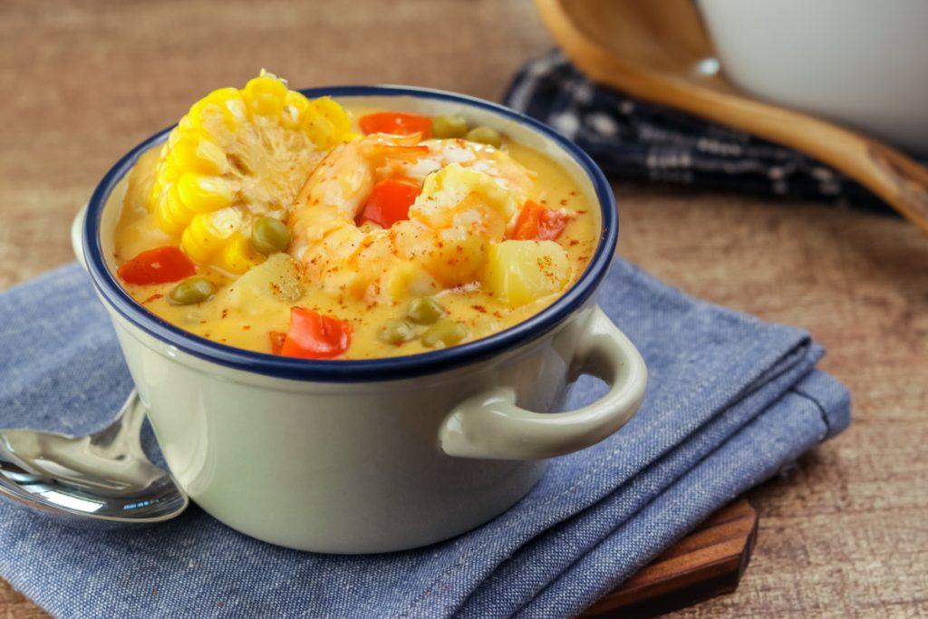 chupe de camarones peruvian shrimp chowder recipe