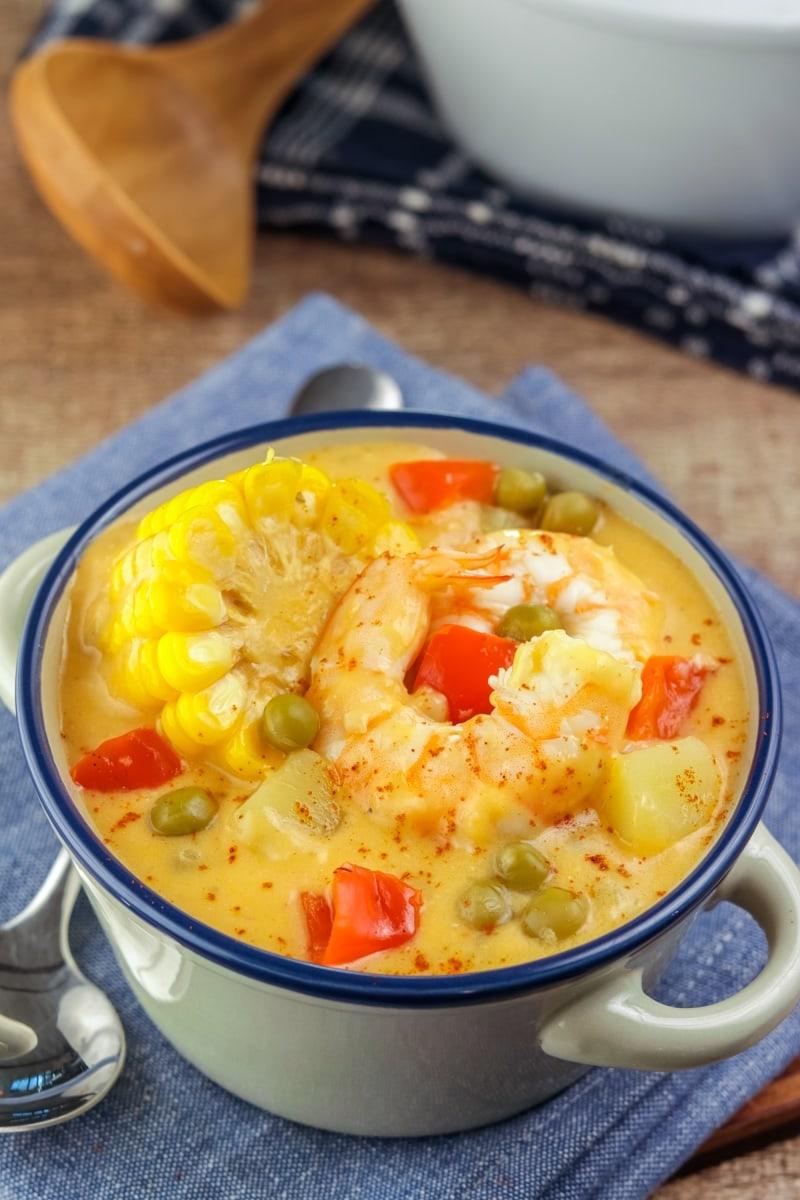 Chupe De Camarones Shrimp Chowder