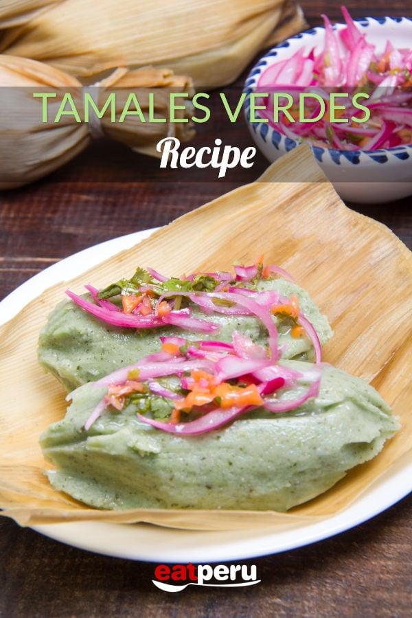 Tamalitos verdes (Peruvian green tamales) recipe in english