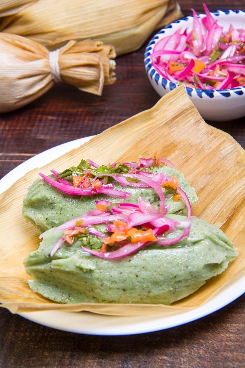 Tamales Verdes Peruvian Green Tamales Recipe