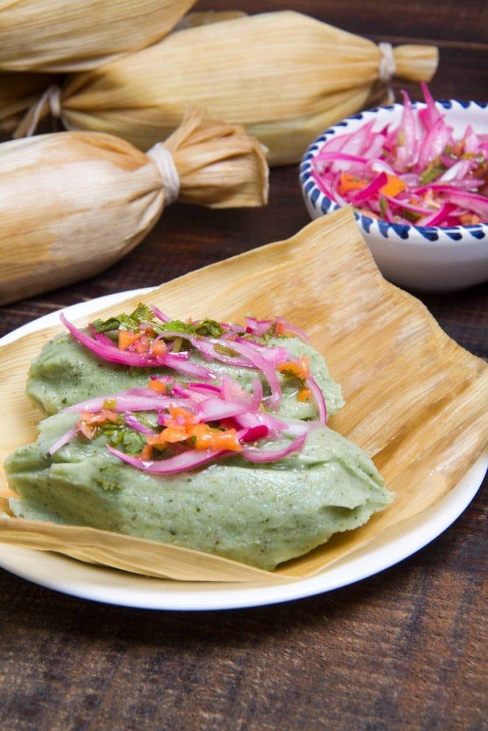 tamales verdes recipe