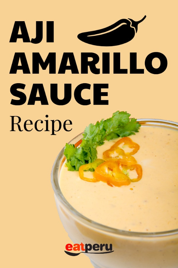 Aji Amarillo Sauce Recipe | How to make this iconic Peruvian Sauce