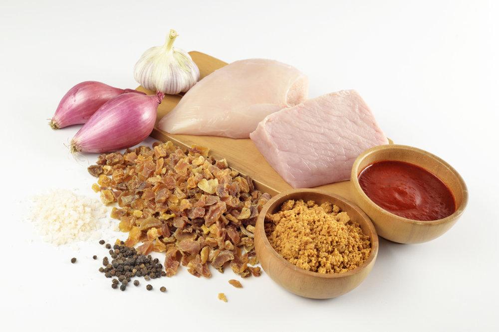 Carapulcra ingredients