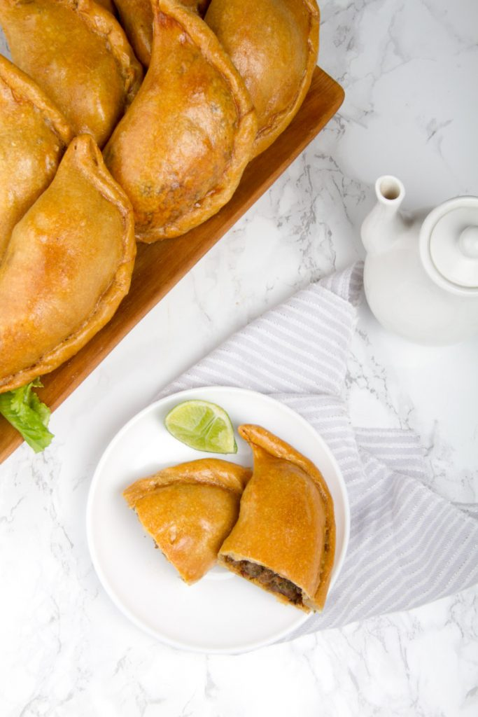 Delicious beef empanadas Peruvian style