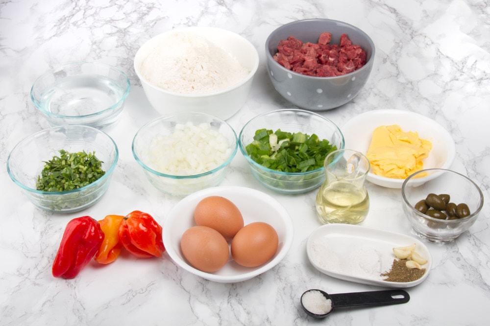 ingredients for peruvian empanadas recipe