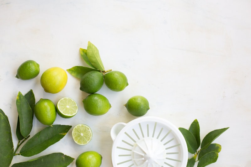 Limes and Lime Squeezer