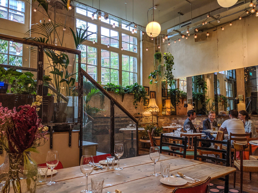Pachamama East, London - main dining room