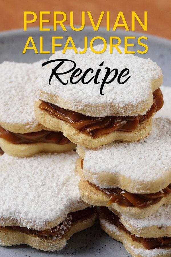 Alfajores Cookie - Peruvian Manjar Blanco Dessert