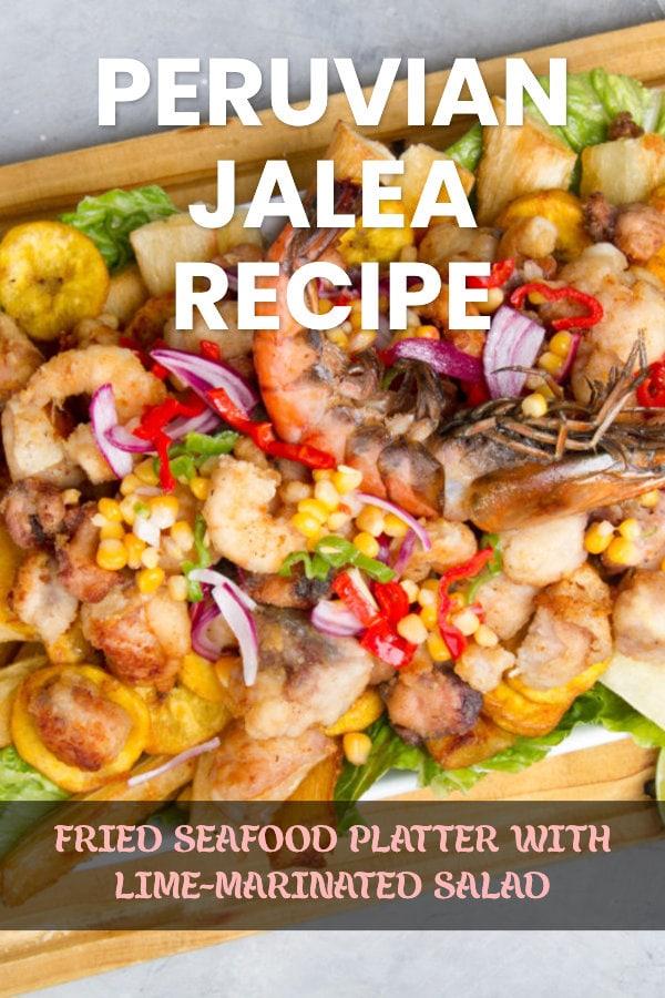 Peruvian Jalea Recipe