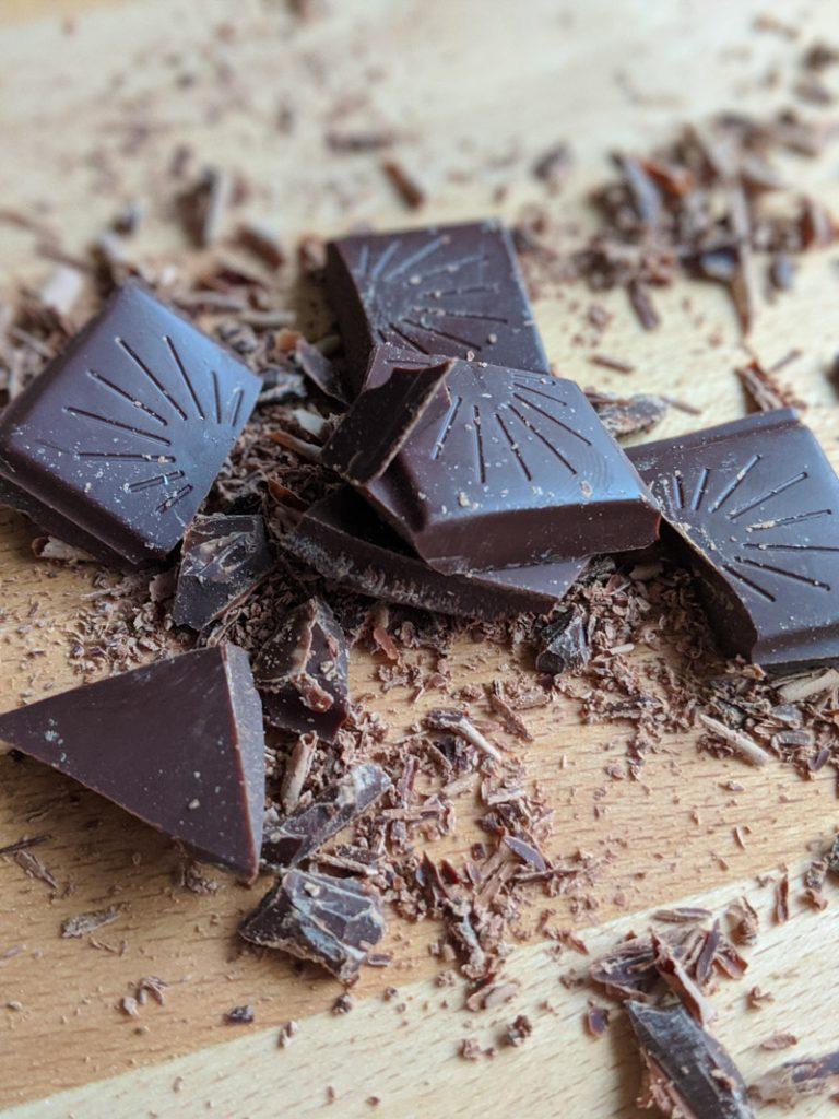 Peruvian chocolate squares