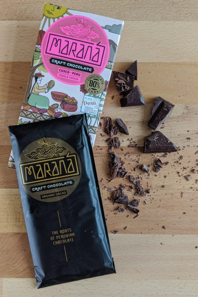 Maraná organic cacao craft bar